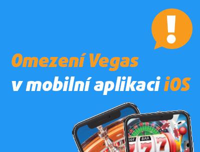 Apple mění pravidla, Vegas už nebude v aplikaci