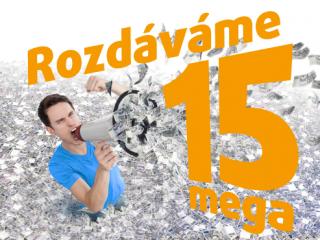 Maraton o 15 mega: Lov žolíků už začal!