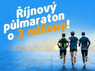 Nezapomeňte si vsadit do půlmaratonu!