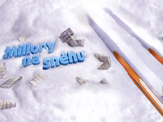 Miliony na sněhu vrcholí, pojďte hrát!