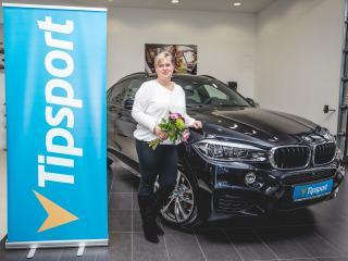 Vítězka Turnaje mistrů odjela v BMW X6! (+ VIDEO)