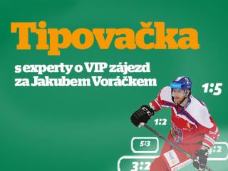 Tipovačka o zájezd na NHL a setkání s Voráčkem!