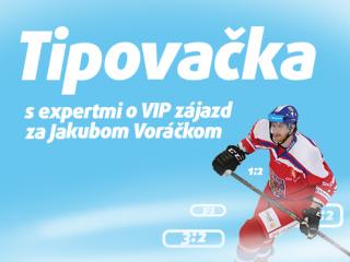 Tipovačka o VIP zájazd na NHL a stretnutie s Voráčkom!