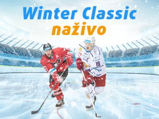 Sledujte prvé slovenské Winter Classic na TV Tipsport!