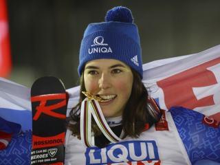 Petra Vlhová zlatá aj v slalome?