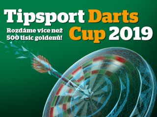 Přihlaste se na Tipsport Darts Cup!