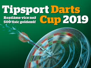 Je tu šipkový turnaj Tipsport Darts Cup 2019!