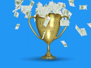 Turnaj majstrov o autá, zájazdy a Nety za 135 tisíc!